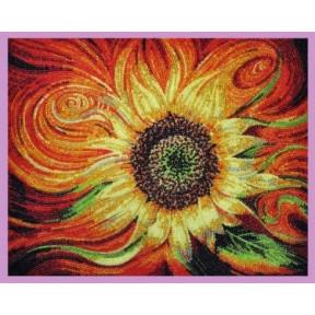 Набор для вышивания бисером  Картины Бисером Р-277 Огненный цветок