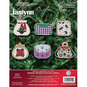 Набор для вышивания Janlynn 021-1472 Christmas Handbag