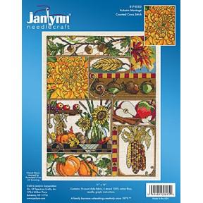 Набор для вышивания Janlynn 017-0103 Autumn Montage фото