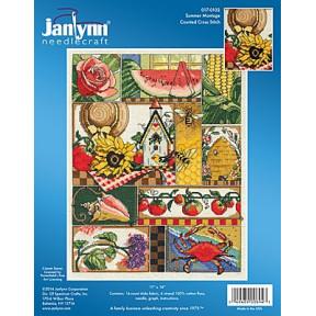 Набор для вышивания Janlynn 017-0102 Summer Montage фото