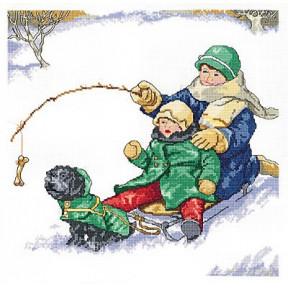 Набор для вышивания Janlynn 008-0201 Winter Fun фото