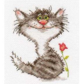 Набор для вышивки крестом Алиса 0-86 Кис