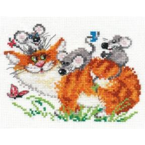 Набор для вышивки крестом Алиса 0-83 Веселая прогулка