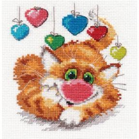 Набор для вышивки крестом Алиса 0-82 С Днем Рождения!