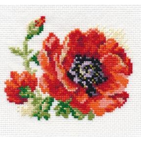 Набор для вышивки крестом Алиса 0-80 Мак