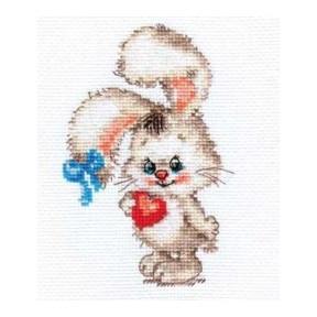Набор для вышивки крестом Алиса 0-78 Моей зайке