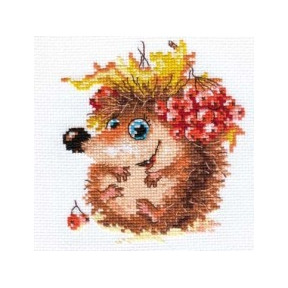 Набор для вышивки крестом Алиса 0-75 Осенний ежонок