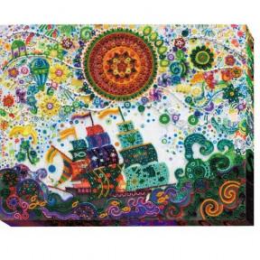 Набор для вышивки бисером на холсте Абрис Арт АВ-492 «Путь к