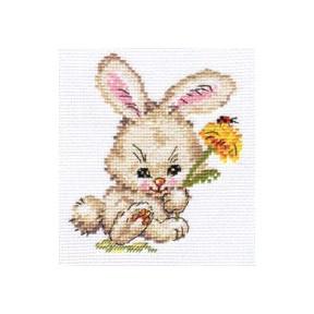 Набор для вышивки крестом Алиса 0-58 Зайка