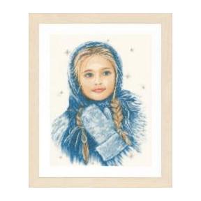"Набор для вышивания Lanarte PN-0169674 Winter Girl ""Зимняя"