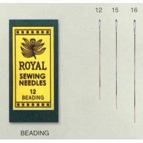 Иглы для бисера Royal Tapestry 15 (25 шт) RB15 фото