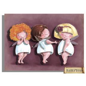 Картина из бумаги Папертоль РТ150042 Три подружки