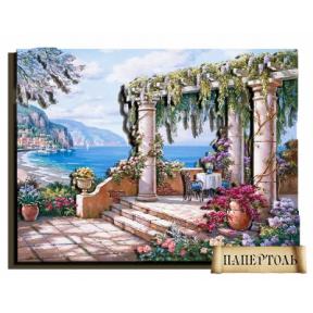 Картина из бумаги Папертоль РТ150047  На лазурном берегу