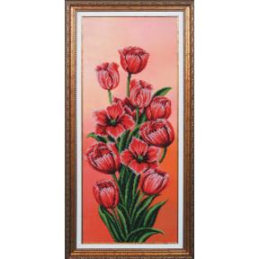 """Набор для вышивания Магия Канвы Б-196 Вдохновение """"Тюльпаны"""""""