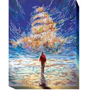 Набор для вышивки бисером на холсте Абрис Арт АВ-433 «Небесный