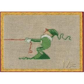 """Набор для вышивания крестом NIMUЁ 14-A0010 К (Aida) """"Mic 3/Мик"""