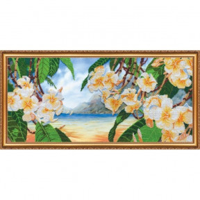 Набор для вышивки бисером на холсте Абрис Арт АВ-268 «Гавайский
