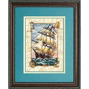Набор для вышивания крестом Dimensions 06847 Voyage at Sea