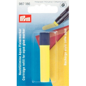 Запасной стержень для клеевого аква-маркера желтый Prym 987186