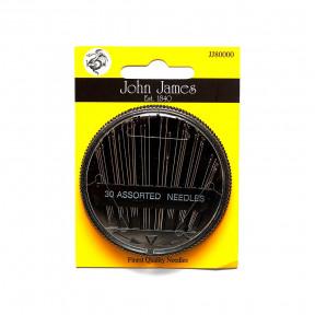 Набор швейных игл 30 Sewing needles (30шт) John James JJ80000