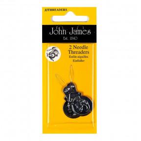 Нитковдеватель для бисерных игл Standart Threader (2шт)  John James  JJTHREADERS