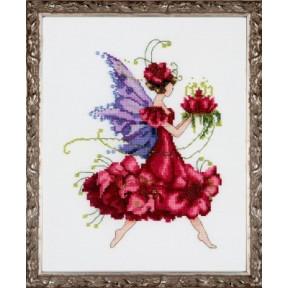 """Схема для вышивания """"Geranium//Герань"""" Nora Corbett NC198 фото"""
