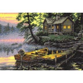 Набор для вышивания крестом Dimensions 65091 Morning Lake
