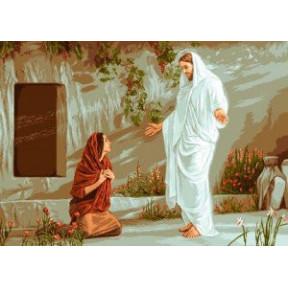 Набор для вышивания гобелен Goblenset G618 Иисус и Мария фото