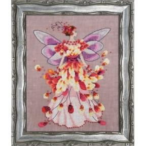 """Схема для вышивания """"Faerie Spring Fling//Пружинящий"""" Nora"""