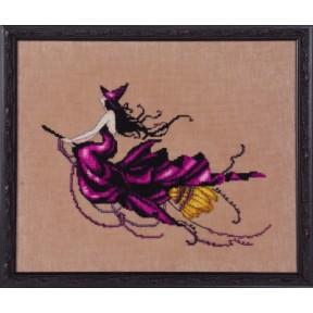 """Схема для вышивания """"Eva//Ева"""" Nora Corbett NC224 фото"""