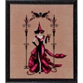 """Схема для вышивания """"Zenia//Зения"""" Nora Corbett NC223 фото"""