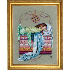 Схема для вышивания Mirabilia Designs MD123 Sleeping Princess