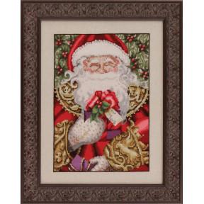 Схема для вышивания Mirabilia Designs MD120 Santa фото