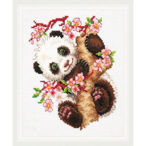 Набор для вышивки крестом Чудесная игла 19-26 Панда