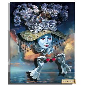 """Картина из бумаги Папертоль РТ150173 """"Зазеркалье. Любовь"""" фото"""
