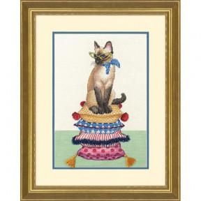 Набор для вышивания крестом Dimensions 70-35367 Cat Lady фото