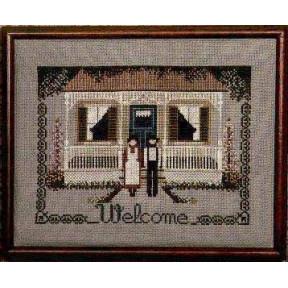 Схема для вышивания Lavender Lace TG5 Amish Welcome фото