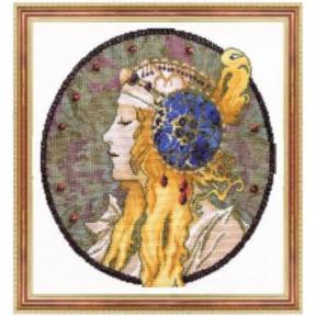 Набор для вышивки крестом Чарівна Мить 432ч Византийка