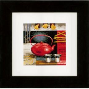 Набор для вышивки крестом Vervaco PN-0148121 Китайская чайная