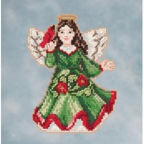 Набор для вышивания Mill Hill JS201615 Angel with Cardinal