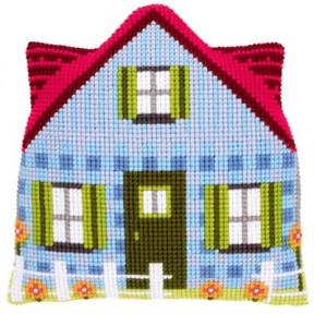 Набор для вышивки подушки с задником Vervaco PN-0147191 Синий