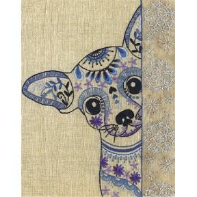 Набор для вышивания нитками (декоративные швы) Марічка НКШ-4013