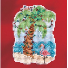 Набор для вышивания Mill Hill MH181733 Christmas Palm фото