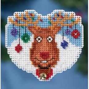 Набор для вышивания Mill Hill MH181631 Reindeer Games фото