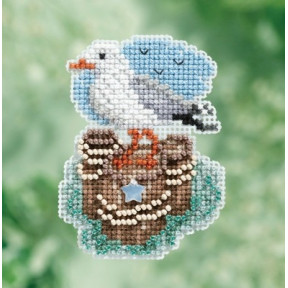 Набор для вышивания Mill Hill MH181716 Seagull фото