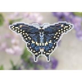 Набор для вышивания Mill Hill MH181103 Black Swallowtail фото