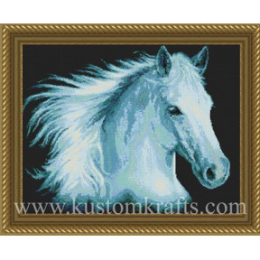 Набор для вышивания Kustom Krafts DAW-005 White Lightning фото