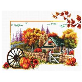 Набор для вышивания крестом Classic Design Осень 8303 фото