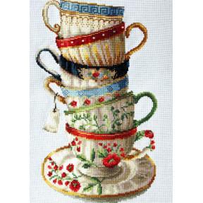 Набор для вышивания крестом Classic Design  Любимые чашки 8306