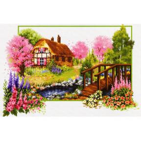 Набор для вышивания крестом Classic Design Весеннее цветение